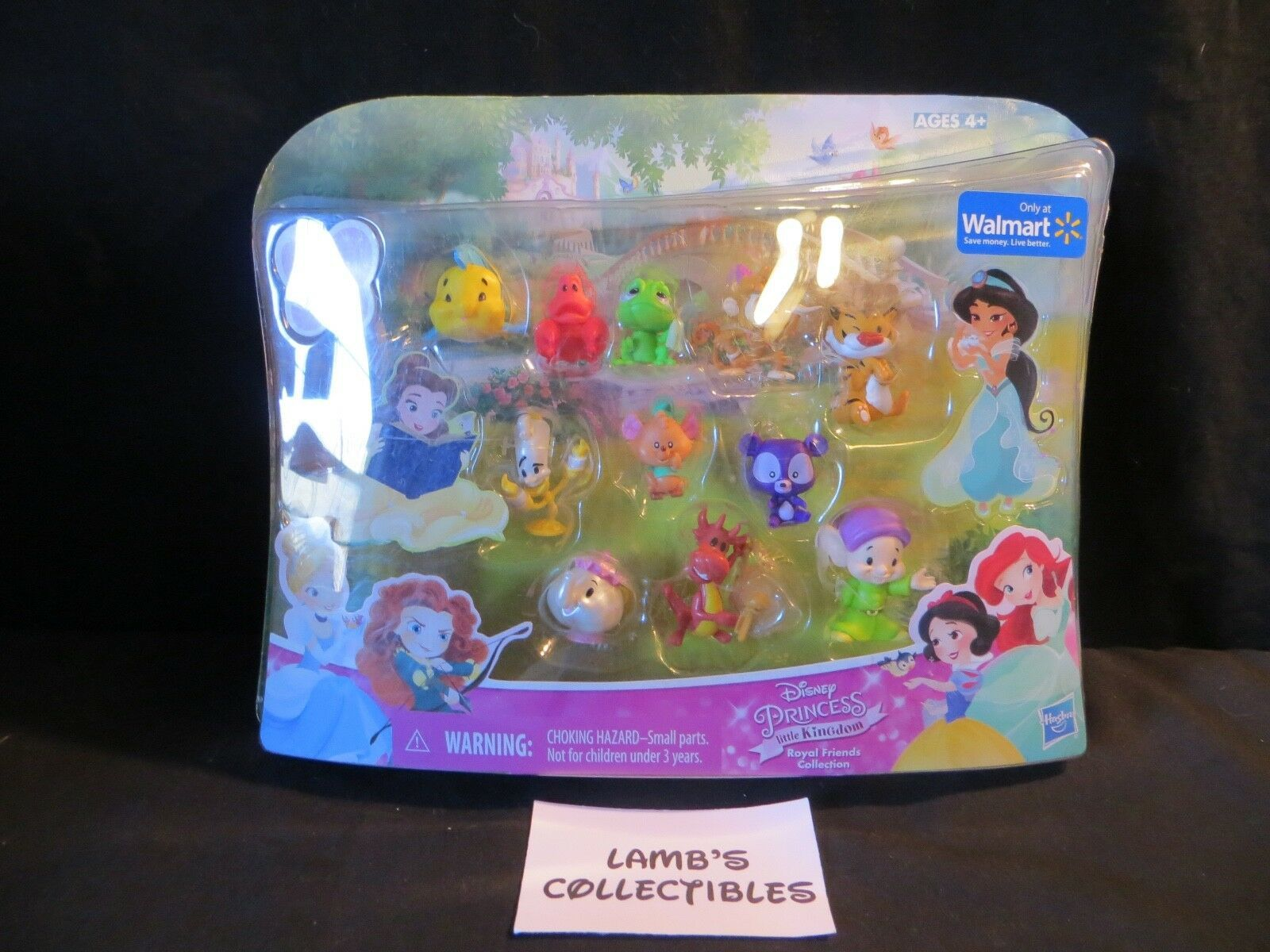 Primary image for Hasbro Disney Princess Little Kingdom Royal Friends Collection 11 Pack Walmart