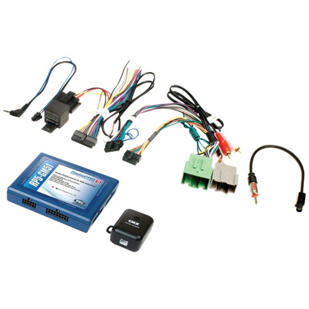 Primary image for PAC RP5-GM51 Radio Replacement Interface (RadioPro5, Select GM Class II Vehicles
