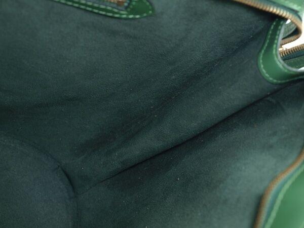 Auth LOUIS VUITTON Saint Jacques Green Epi Leather Luxury Shoulder Bag LS4583L