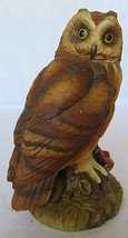 Vintage Short Eared Owl Sculpture Figurine by Andrea by Sadek Porcelain ... - $30.00