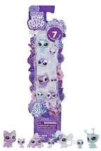 Littlest Pet Shop Petal Party Hydrangean  Collection 7 Pet Set New in Pa... - $14.88
