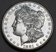 1881S $1 Morgan Silver Dollar Coin Lot # E 118