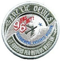 96 EBS DET 1001 Military Sticker  ARCTIC DEVILS - $9.89