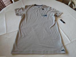 Herren Volcom T-Shirt Stein Kurzärmelig Surf Skate Droner Ss Silber Base S - $15.48