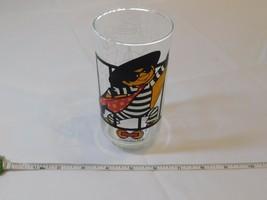 Hamburglar 1977 McDonaldland Action Series Juice Soda Glass very good co... - $16.46