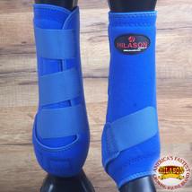 Hilason Infra Tech Horse Medicine Sports Boots Rear Hind Leg U-0ROY - $55.95
