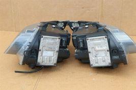 06-09 Saab 9-5 HId Xenon Headlight Head Light Lamps Set L&R - POLISHED image 7
