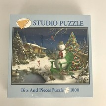 Sweet Holiday Dreams Bits and Pieces Christmas Puzzle 1000 Piece 2006 Sealed  - $12.59
