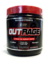 NUTREX OUTRAGE 30 servings Watermelon Preworkout - $29.13