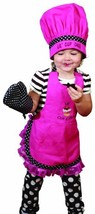 Manual Woodworkers and Weavers Child's Kitchen Apron, Hat, and Oven Mitt... - $23.65