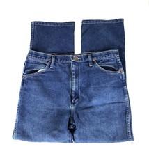 Wrangler Mens Jeans Size 36 x 30 Cow Boy Jeans Boot Cut Denim - $26.97