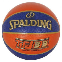"Spalding TF-33 3x3 FIBA Basketball Official Competition Ball Sz6 / 28.5"" 76-010Z - $74.99"