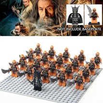 21pcs/set The Lord of the Rings Mouth of Sauron and Gundabad Orcs Minifigures  - $29.99