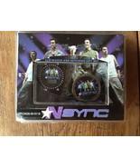 NSYNC LCD Watch and Keychain Gift Set NIB Mint justin timberlake - $24.60