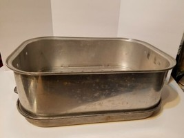 """Vintage Wear-Ever  918 USA Aluminum Roaster Tray 825 Extension 16"""" by 12"""" - $29.72"""