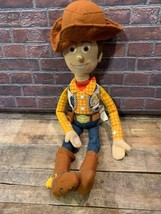 "Well Loved WOODY 22"" Plush Toy Story 2010 - $4.94"