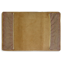 "Popular Bath Chateau Bathroom Bath Rug 21""x34"" Bronze - $29.69"