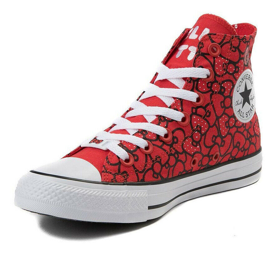 Converse X by Hello Kitty Limited Edition Sneakers Unisex Shoes Men's Women's image 10
