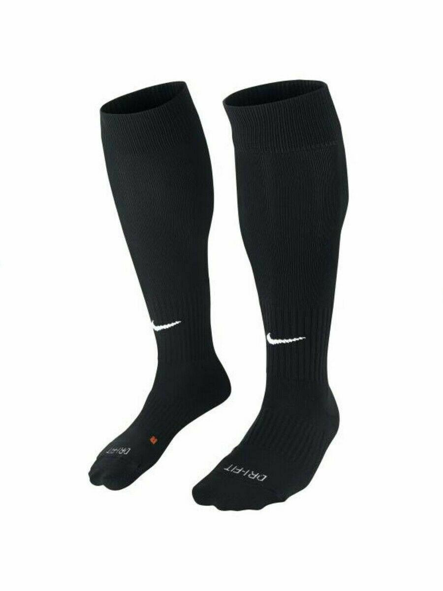 NIKE Academy Cushioned Soccer Dri-Fit OTC Socks size SM and M (Black) image 4