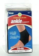 Mueller 964LG Neoprene Blend Ankle Support Size Large Color Black - $10.49