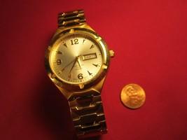 Working ANALOG Wrist Watch TIMEX INDIGO WR30M Leather Band [j21g] - $24.96