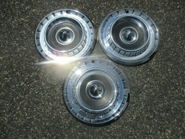 Lot of 3 factory 1957 1958 1959 Chrysler 14 inch hubcaps wheel covers - $88.48