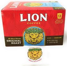 Lion Original Roast Coffee Single-Serve Pods (12 Pod Box) - $20.75