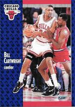 Bill Cartwright ~ 1991-92 Fleer #26 ~ Bulls - $0.05