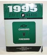 1995 CHEVY CAMARO FIREBIRD SERVICE SHOP REPAIR MANUAL BOOK 2 OF 2 - $15.83