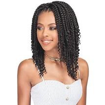 6 Packs/Lot Bobbi Boss Synthetic Hair Crochet Braids Bomba Box Braid Curly Tips
