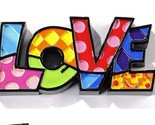 Romero Britto Mini Word Love Figurine #333287