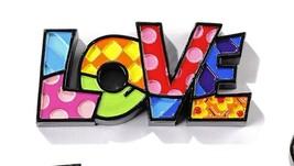 Romero Britto Mini Word Love Figurine #333287