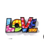 Romero Britto Mini Word Love Figurine #333287 - £17.43 GBP