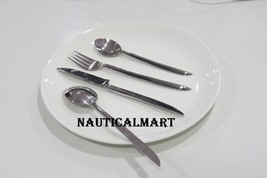 Al-Nurayn Stainless Steel Flatware Silverware Cutlery Set Of 2 By Nautic... - $69.00
