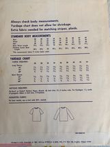 Stretch & Sew Sewing Pattern 300 Ann Person Set-in Sleeve Top Sweater Uncut Knit image 3