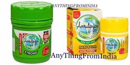 Amrutanjan Herbal Ayurvedic Pain Massage Green & Yellow Balm Relief Pain - $5.85+