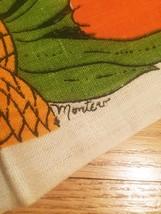 Vintage 1972 Linen Kitchen Tea Towel/Calendar image 5