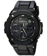 Casio Men's G Shock Stainless Steel Quartz Watch with Resin Strap, Black... - $414.70