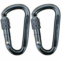 Carapeak 30Kn Heavy Duty Screwgate Locking Snag-Free 2 3 4 6 Pack Set D ... - $20.89+