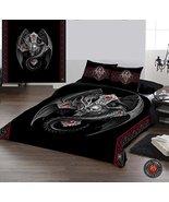 Wild Star Home Gothic Dragon - Duvet & Pillow Covers CASE Set QUEENSIZE ... - $100.93