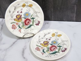 """2 Copeland Spode Gainsborough Bread and Butter Side Plates 6 3/4"""" - $17.82"""