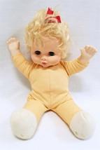 "ORIGINAL Vintage Goldberger 15"" Blonde Baby Doll 15-882 - $29.69"