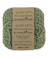 Soap Lift Soap Dish Bone Color - Sage - $18.00