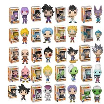 Funko Pop Dragon Ball Super Action Figures Goku Vegeta Zamasu Kids Chris... - $20.40
