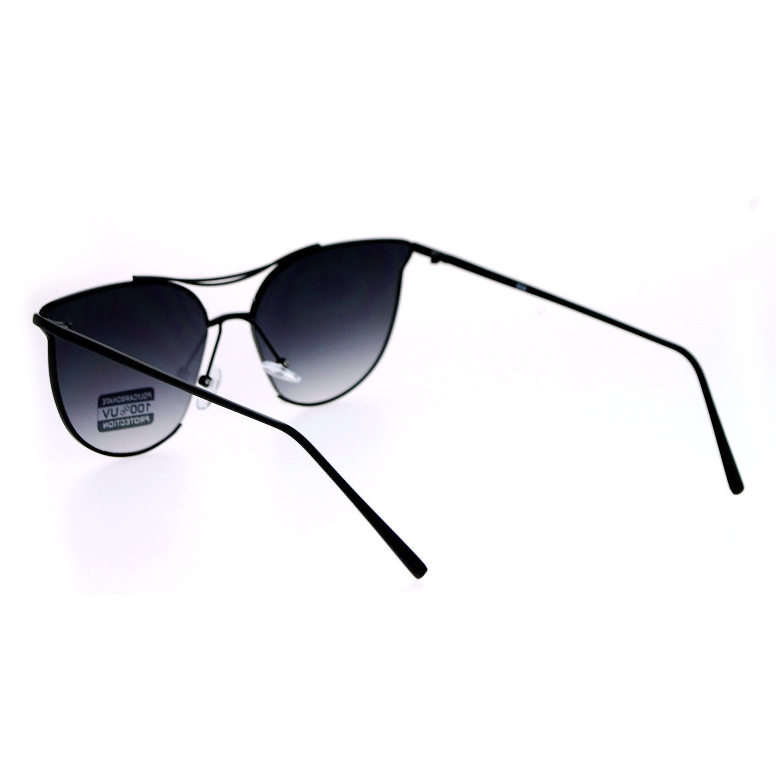 Designer Fashion Sunglasses Womens Metal Open Butterfly Frame UV 400
