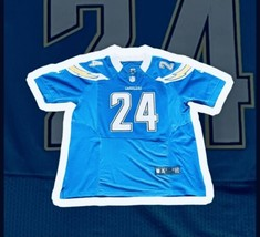 Ryan Matthews San Diego Chargers Nike On Field NFL Jersey Size 52 - $59.99