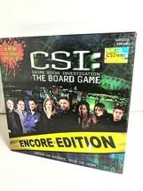 CSI: Crime Scene Investigation The Board Game Eight Crime Stories Encore Ed. EUC - $20.30