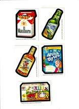 2010 Wacky Packages Postcards Series 6 Bio Cards Complete set of Five Rare! - $37.27