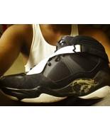 Retro Jordan 8.0 BLACK WHITE SIZE 13 Gray - $63.30