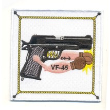 US Navy VF-45 Vertical Figher Squadron Forty Five Military Patch WWII  - $11.87
